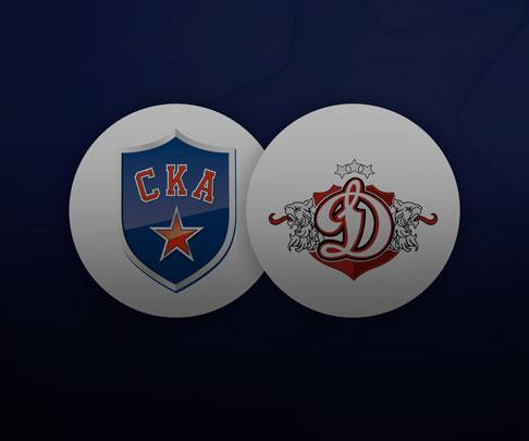 СКА — Динамо Рига 26 января, хоккейный матч